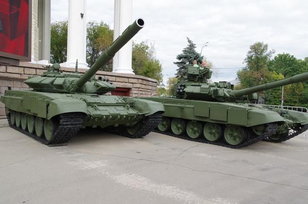 Основной боевой танк Т-72Б3 и основной боевой танк Т-90 («Владимир»)