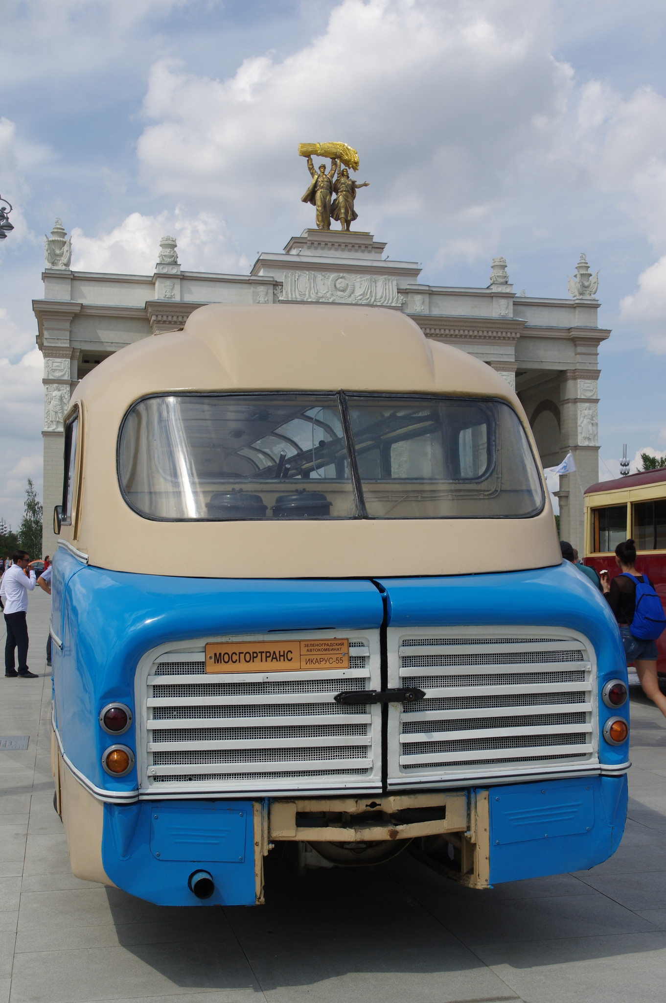 Междугородный автобус Ikarus 55