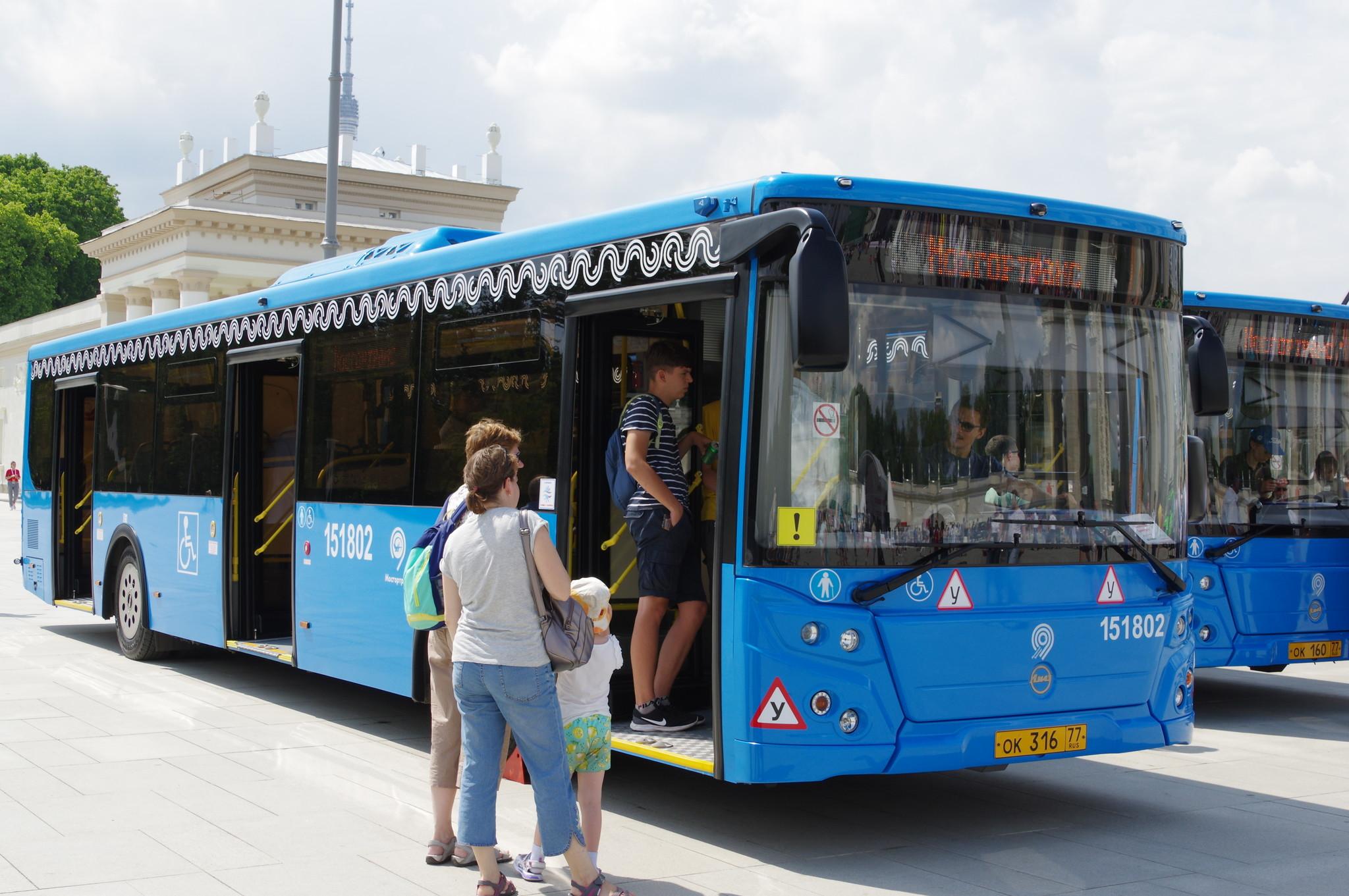 Городской низкопольный автобус ЛиАЗ-5292