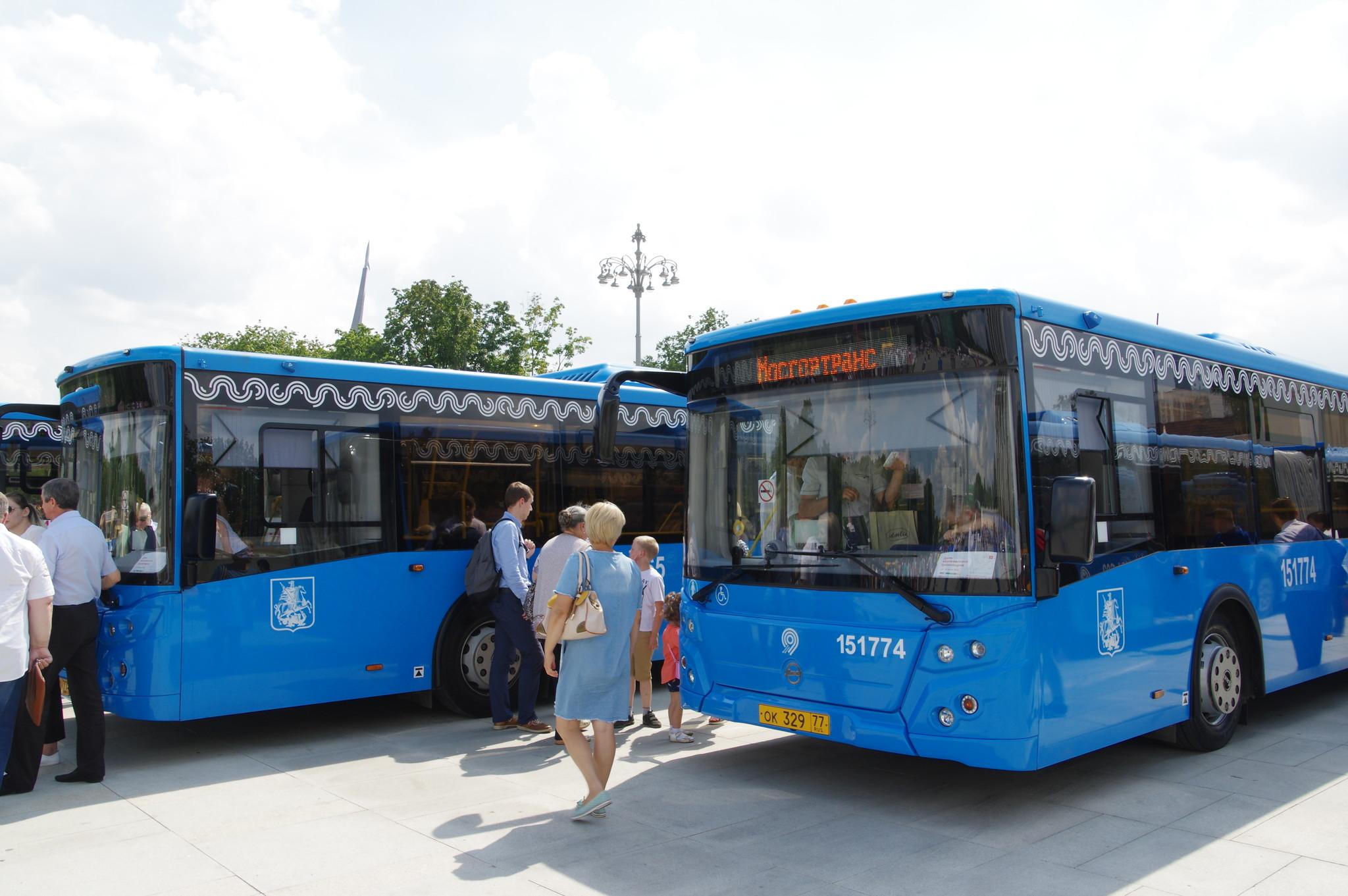 Городские автобусы ЛиАЗ