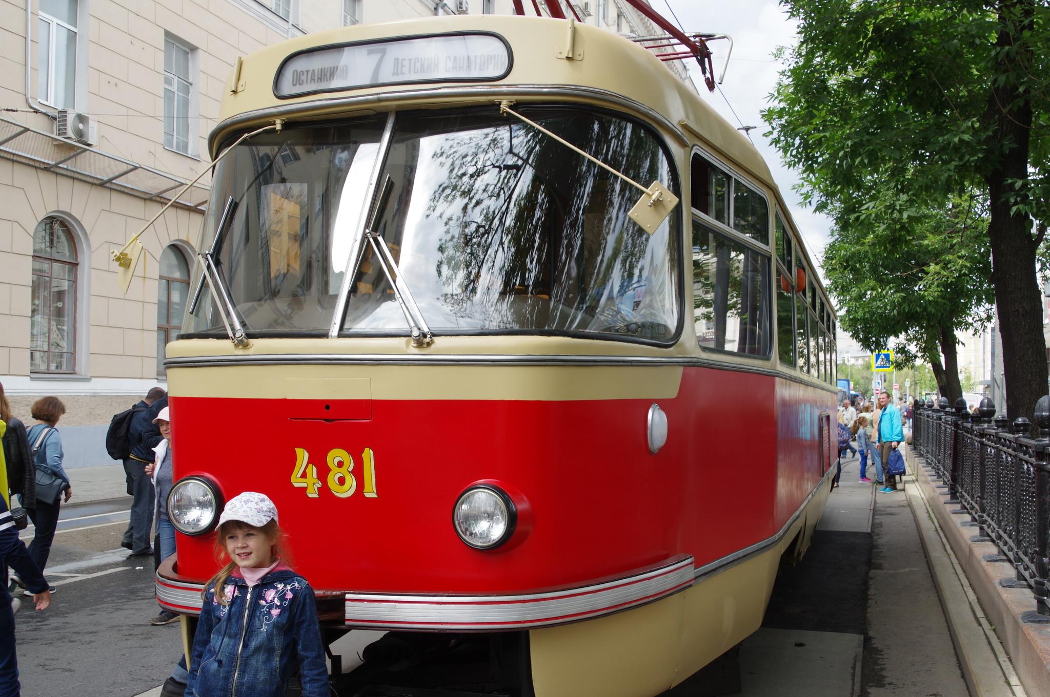 Трамвайный вагон Татра T3 (в двухдверном исполнении)