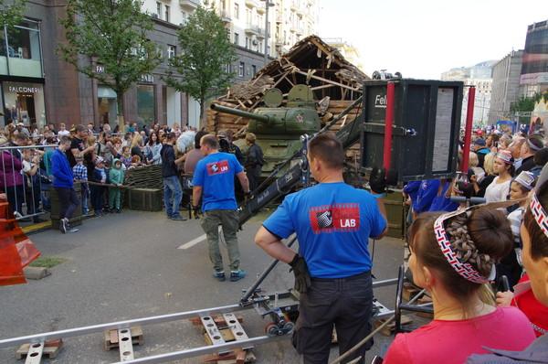 «Съёмки художественного фильма» на Тверской улице