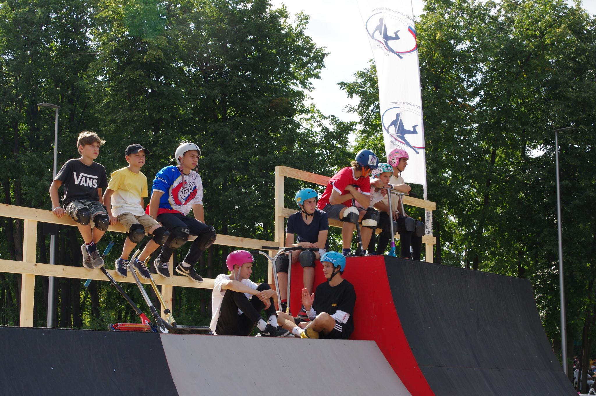 Фестиваль «Московский спорт» в Лужниках