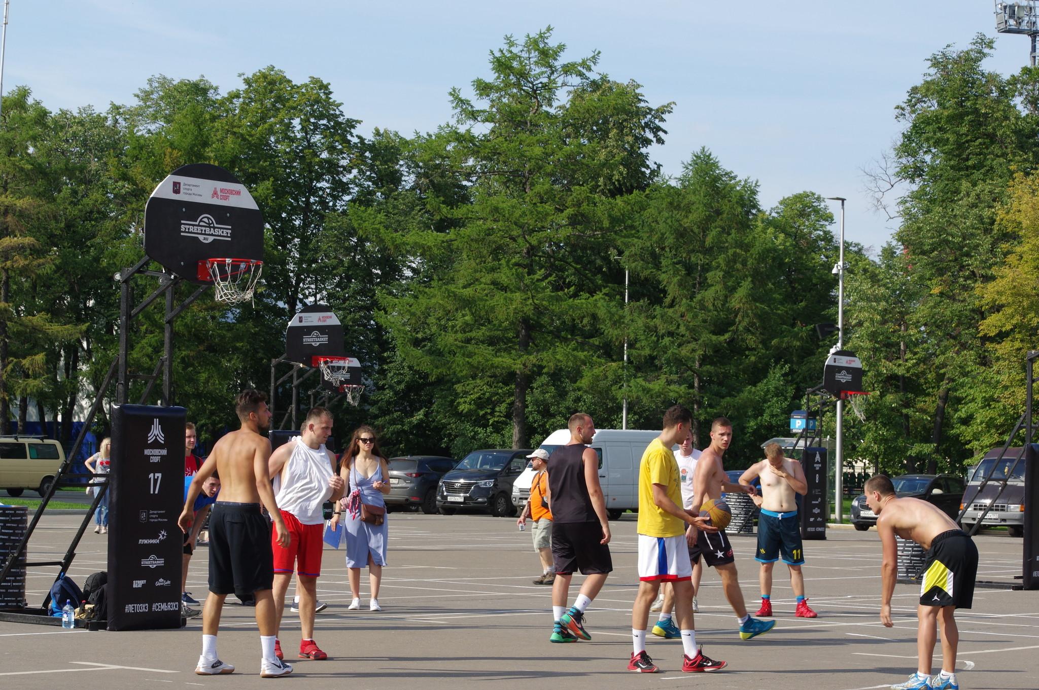 Фестиваль «Московский спорт» в «Лужниках»