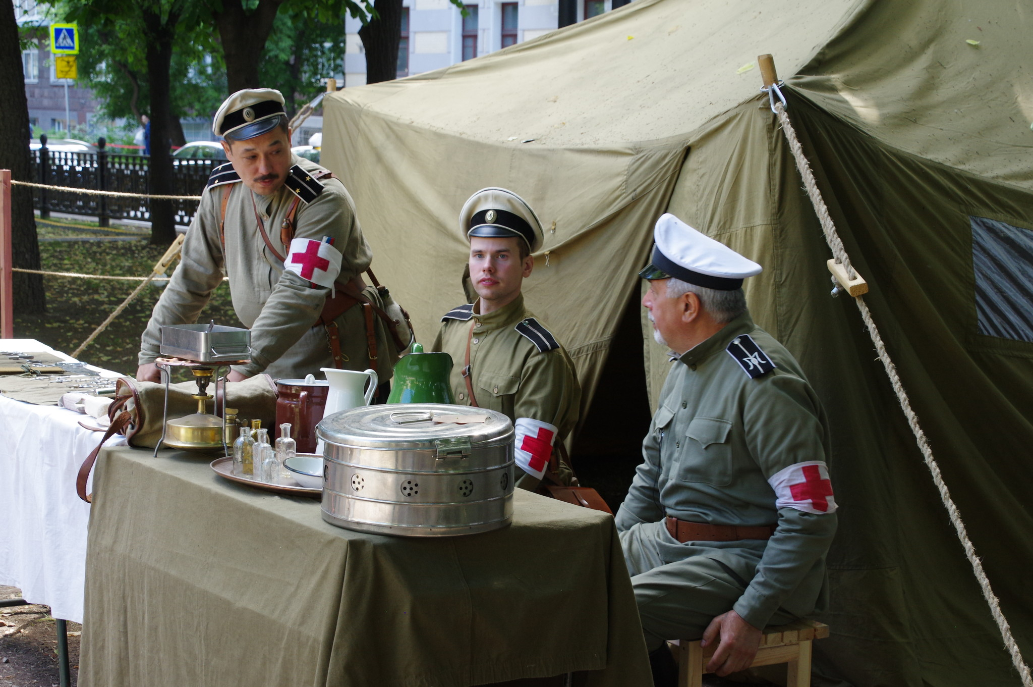 Фестиваль исторических реконструкторов «Времена и эпохи»