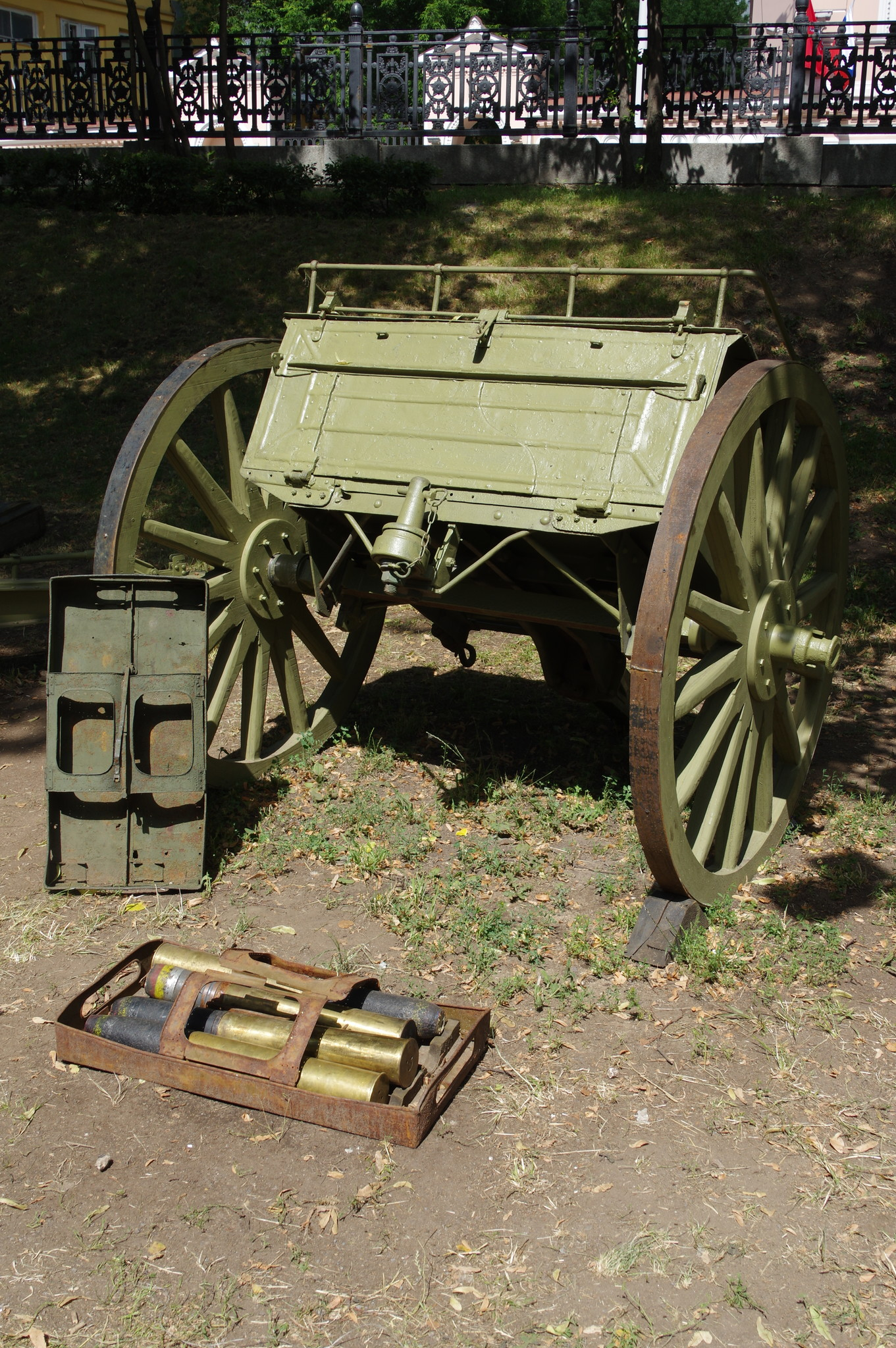 Боеприпасы к 76,2-мм пушке образца 1902 года