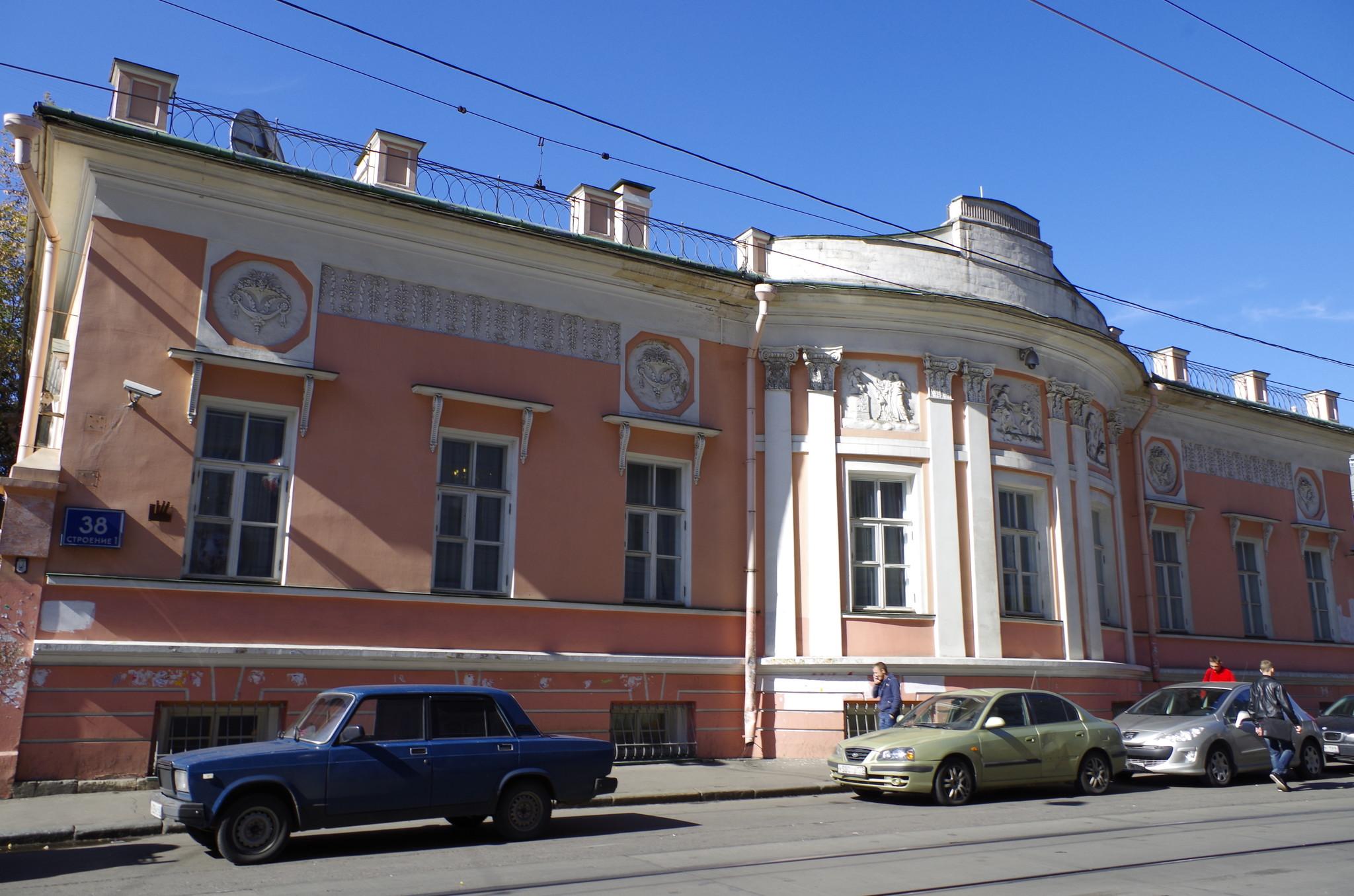 Дом Барабанова (Бауманская улица, дом 38)