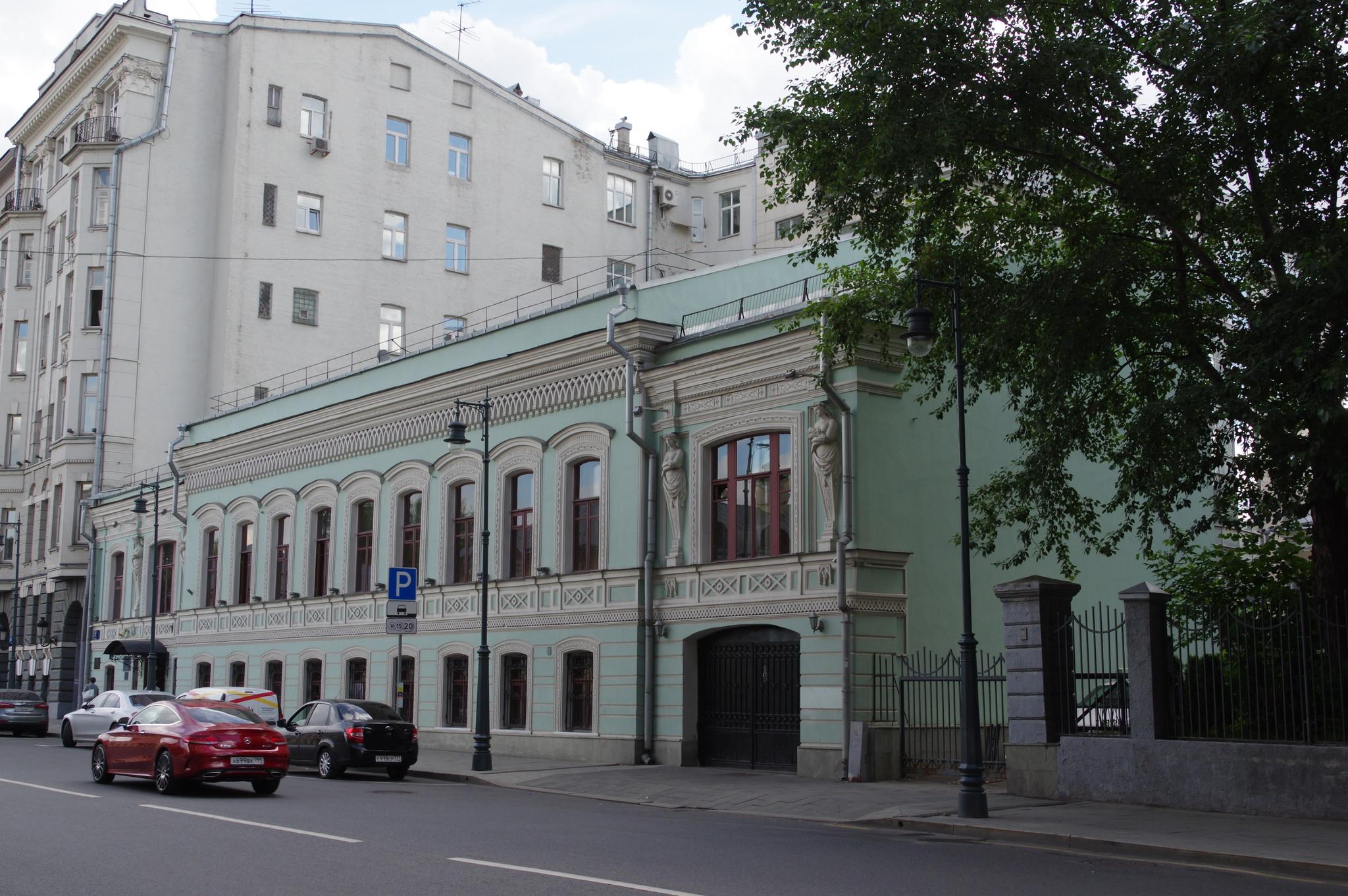 Городская усадьба И.Г. Григорьева - В.П. Писемской (улица Малая Дмитровка, дом 27)