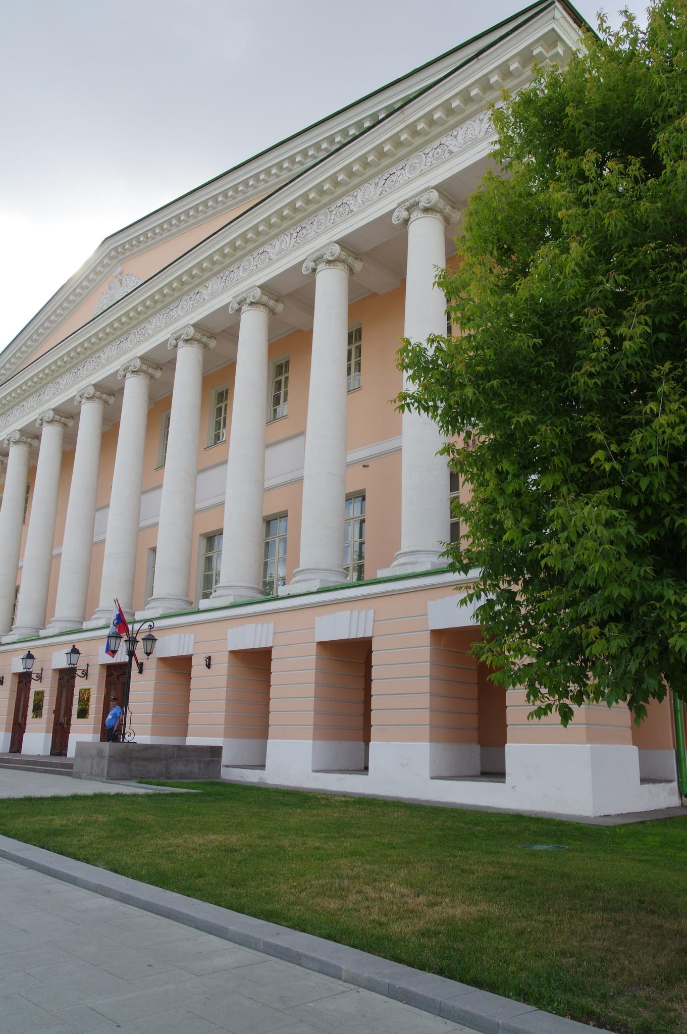 Ново-Екатерининская больница (Усадьба Гагариных) на Страстном бульваре