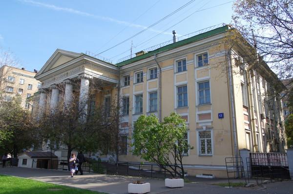 Шефский дом (Комсомольский проспект, дом 13)