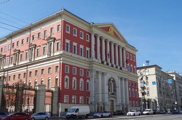 Здание мэрии Москвы (Тверская улица, дом 13)