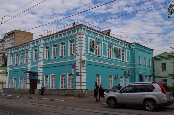 Двухэтажное здание Бахрушиных (Новокузнецкая улица, дом 23А)