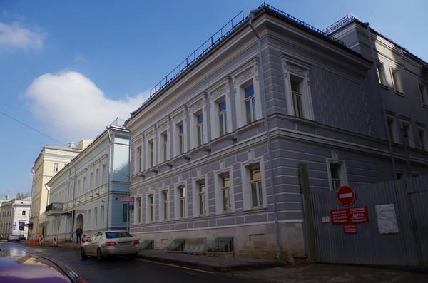 Городская усадьба Ф.Н. Монахова - М.И. Стуловой (Малый Знаменский переулок, дом 10, строение 1)
