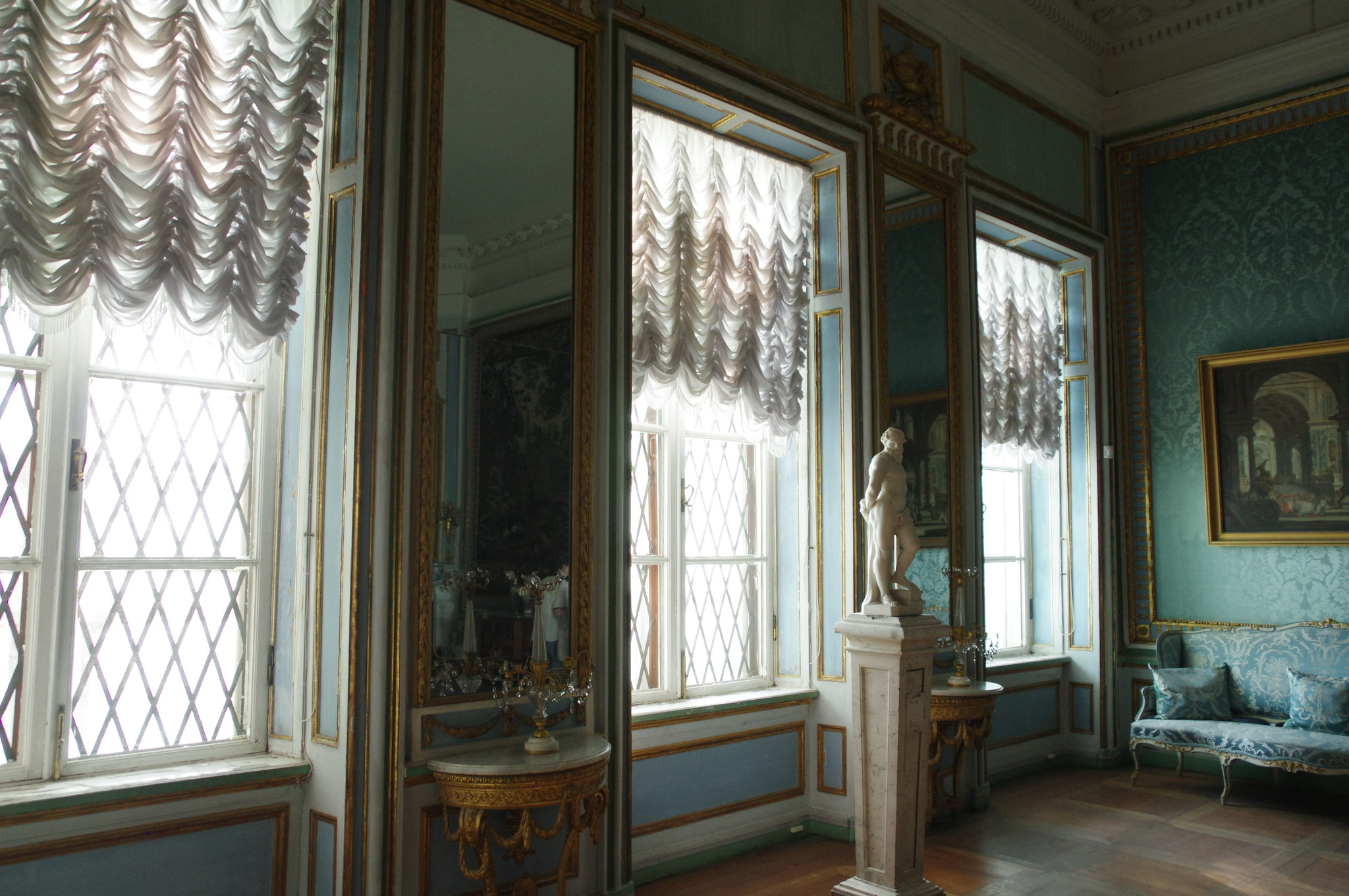 Дворец - композиционный центр ансамбля «Кусково»