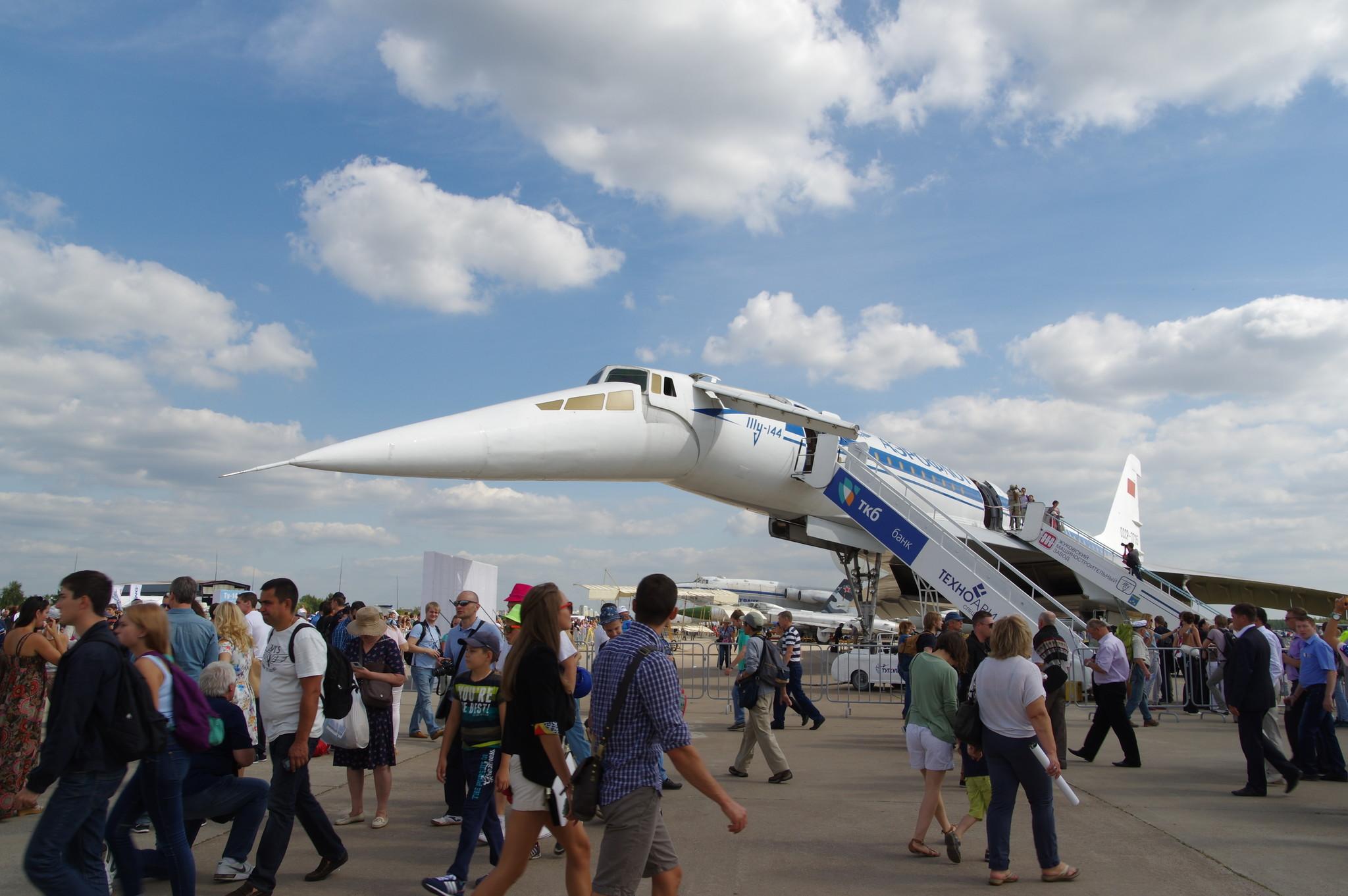 Ту-144Д («004Д») - самолёт с двигателями РД-36-51А, 1974 года выпуска