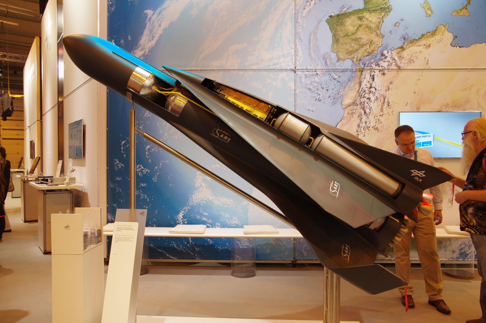 SpaceLiner — концепция суборбитального гиперзвукового пассажирского космоплана, разрабатываемая с 2005 года в Германском центре авиации и космонавтики