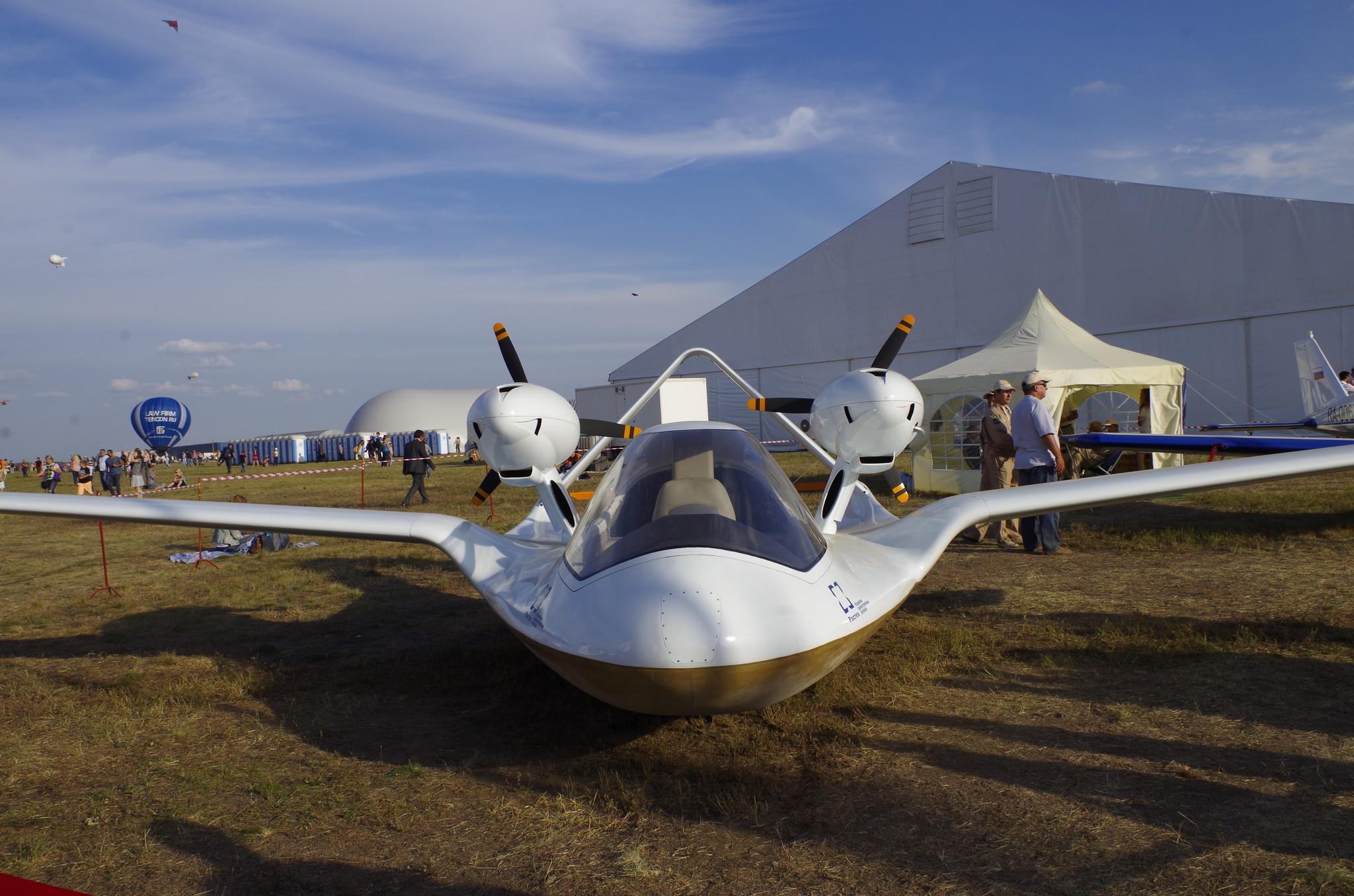 На МАКСе впервые показали новейший беспилотник-разведчик на воздушной подушке «Чирок»