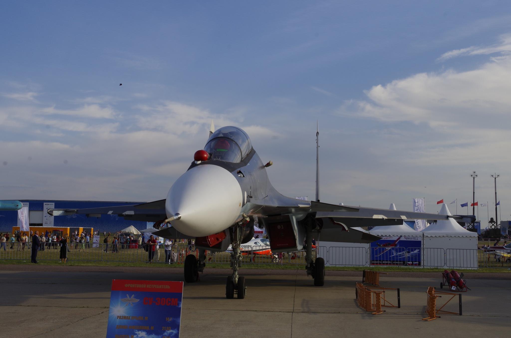 Сверхманевренный истребитель Су-30СМ поколения 4++