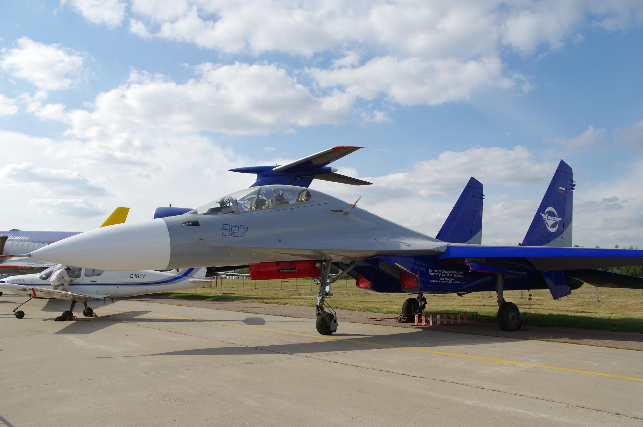 Летающая лаборатория Су-30