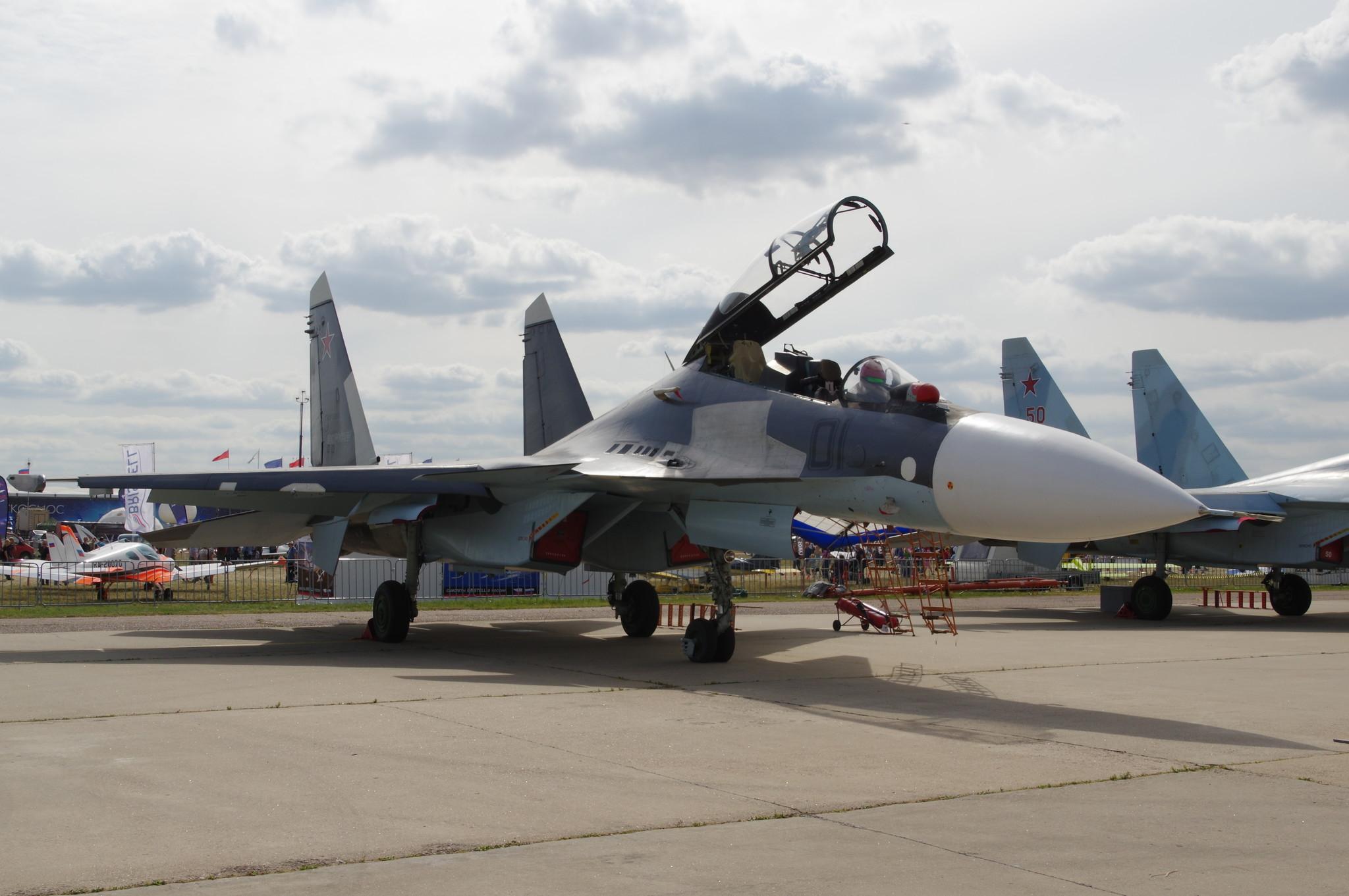 Тяжёлый многоцелевой истребитель Су-30СМ