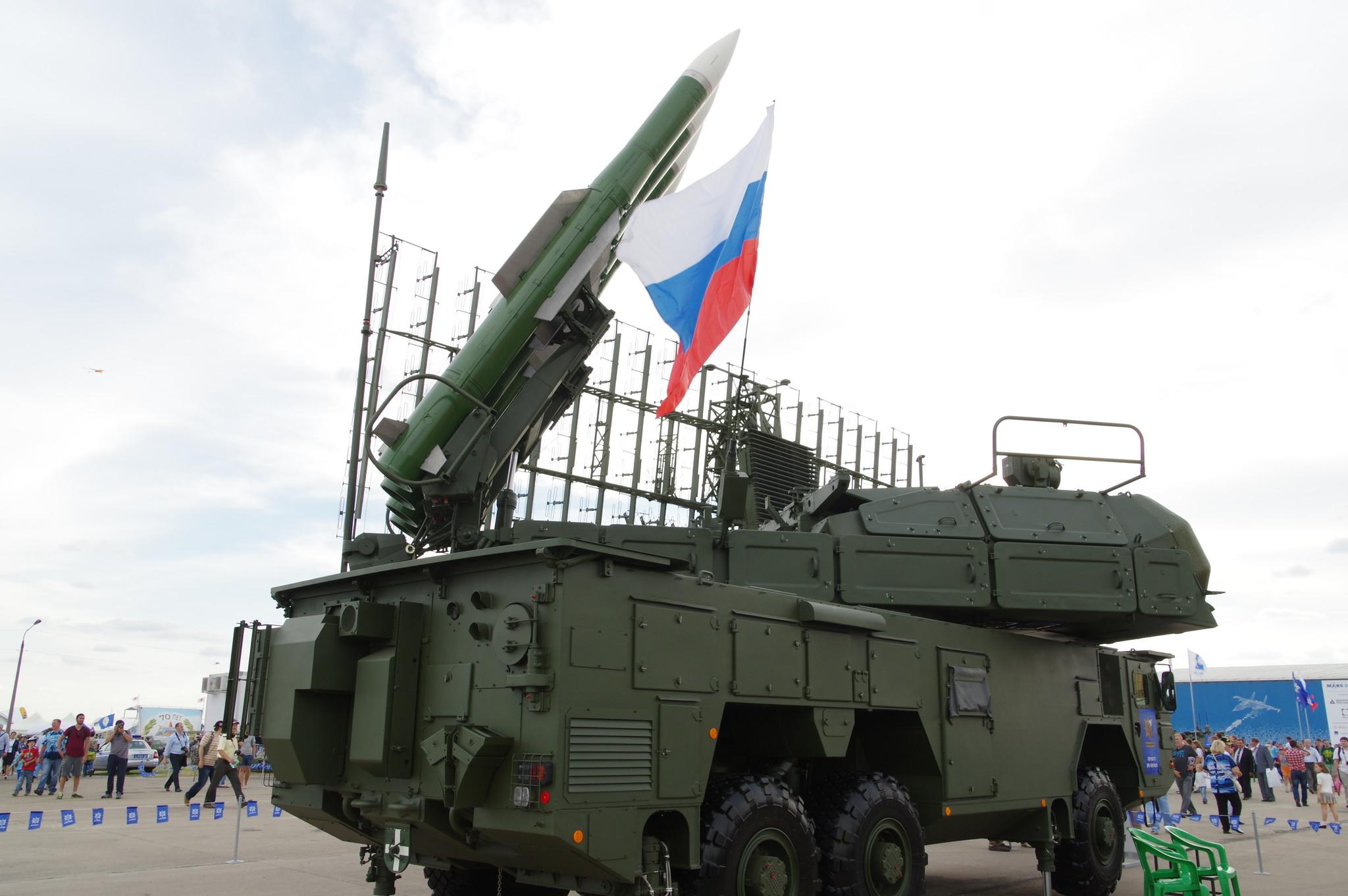 Зенитный ракетный комплекс средней дальности ЗРК «Бук-М2Э»