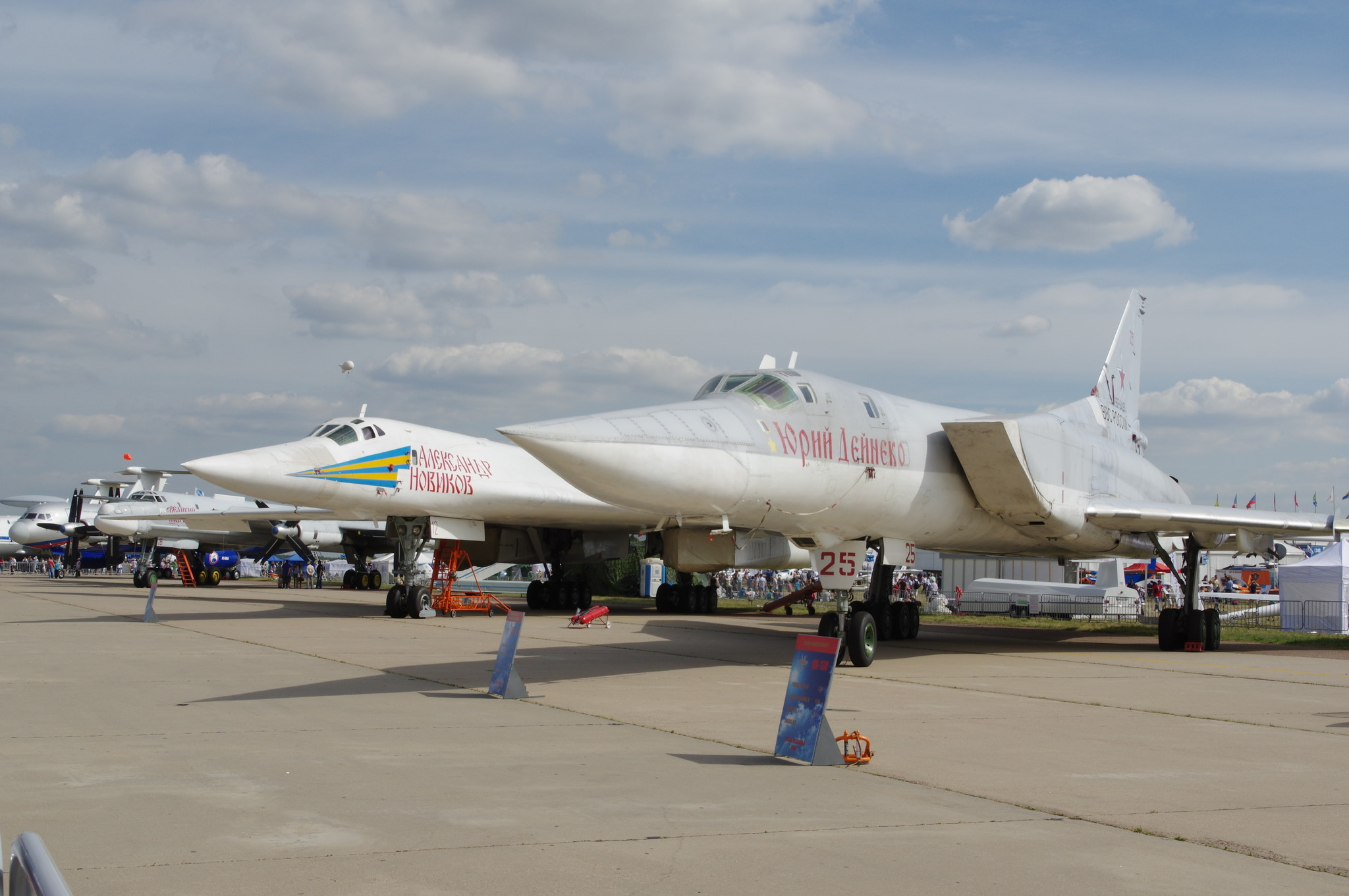 Реактивные и турбовинтовые самолёты Дальней авиации ВВС России