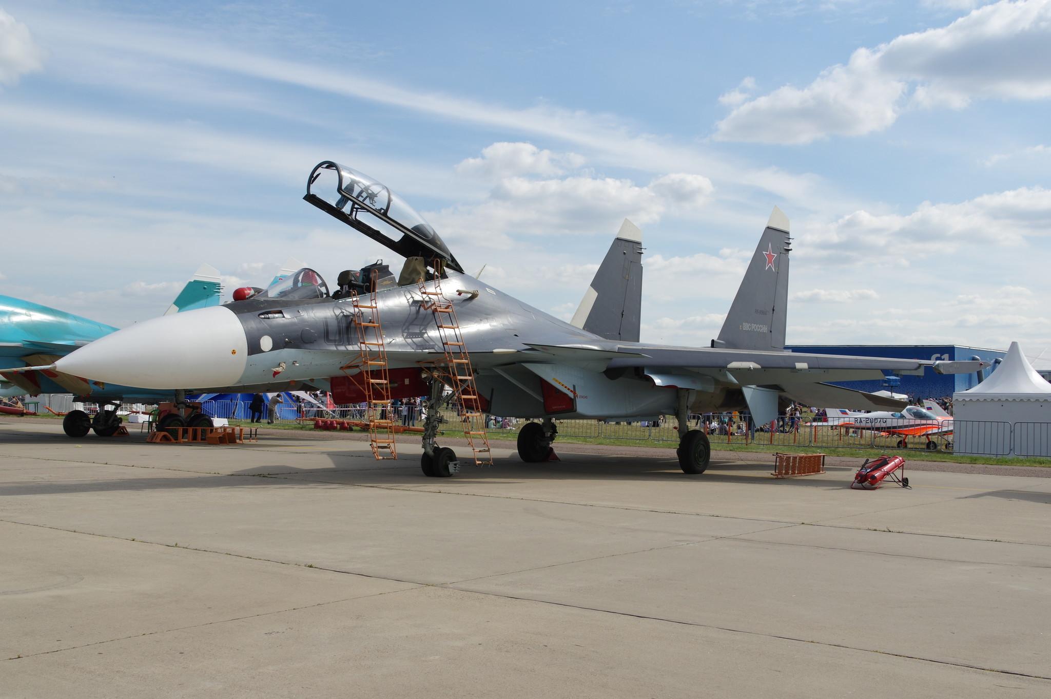 Многофункциональный истребитель Су-30СМ