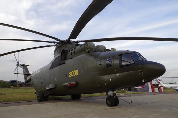 Тяжёлый транспортный вертолёт Ми-26Т2