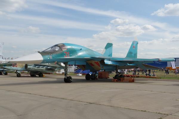 Су-34 – российский многофункциональный истребитель-бомбардировщик