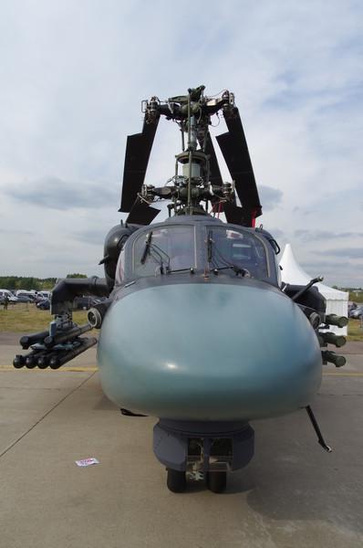 Вертолёт Ка-52К является корабельным вариантом боевого вертолёта Ка-52
