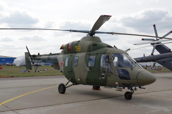 Лёгкий вертолёт «Ансат-У»