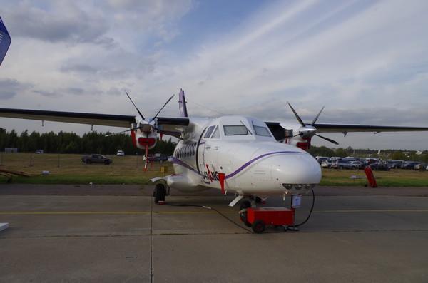Самолёт L-410 NG чешской компании Aircraft Industries