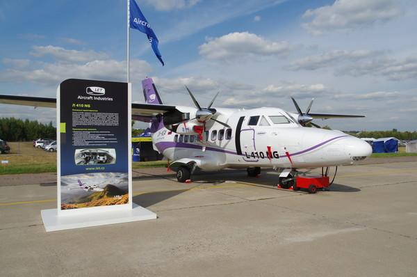 Турбовинтовой пассажирский самолёт для региональных перевозок L-410 NG