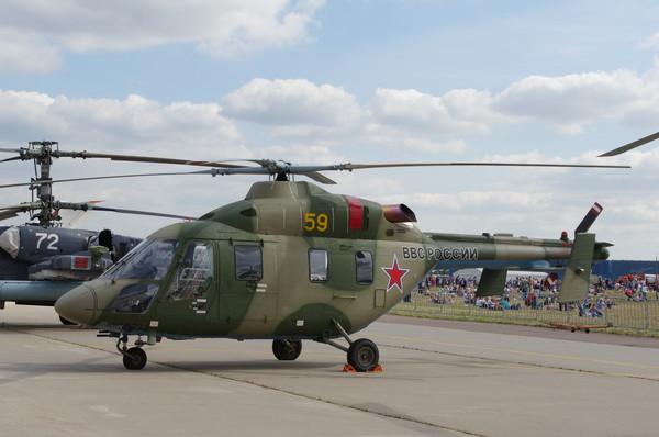 Лёгкий учебно-тренировочный вертолёт «Ансат-У»