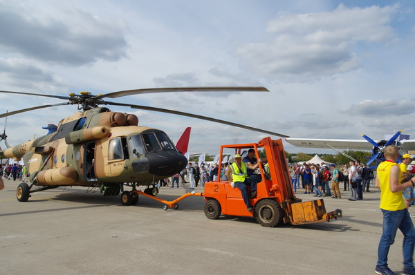 Военно-транспортный вертолёт Ми-17В-5