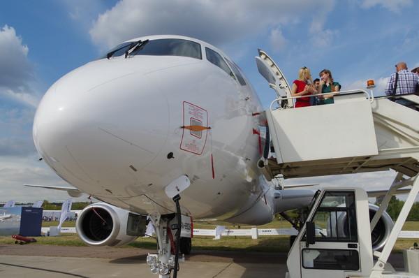 Sukhoi Superjet 100 регистрационный номер RA-89034