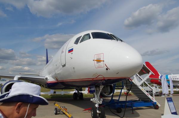 Sukhoi Superjet 100 регистрационный номер RA-89053