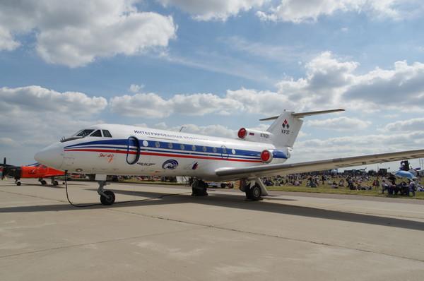Региональный пассажирский самолёт Як-40