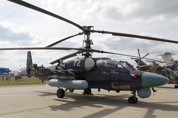 Ударно-разведывательный вертолёт Ка-52 «Аллигатор»