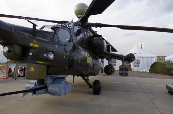 Боевой ударный вертолёт Ми-28Н «Ночной охотник»