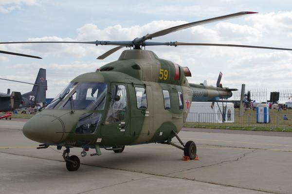 Лёгкий вертолёт «Ансат»