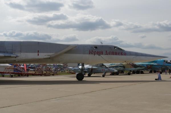 Ту-22М3 - дальний сверхзвуковой ракетоносец-бомбардировщик с изменяемой геометрией крыла