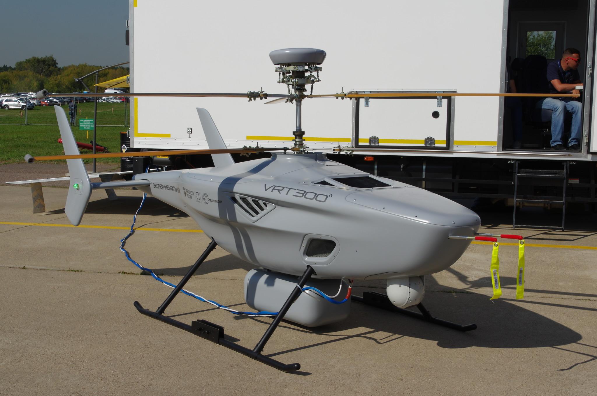 Беспилотный комплекс VRT300 вертолётного типа