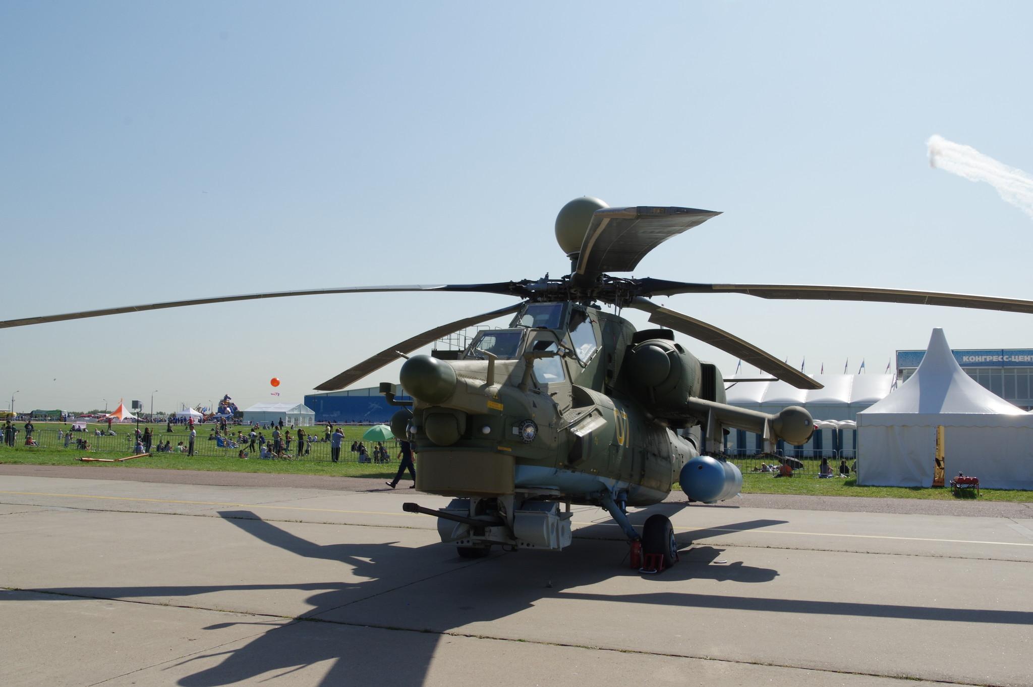 Учебно-боевой вертолёт Ми-28УБ