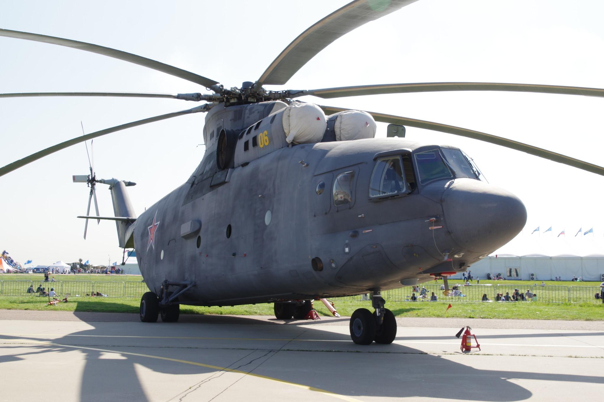 Многоцелевой транспортный вертолёт Ми-26