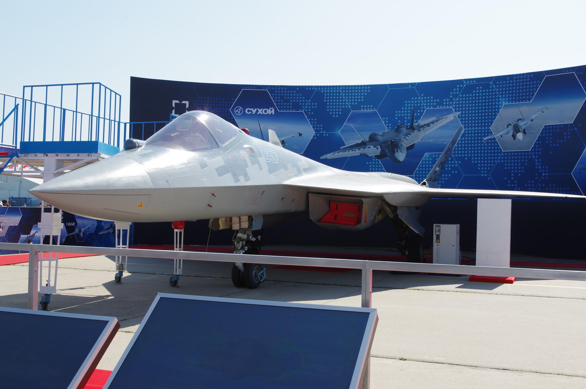 Многофункциональный истребитель пятого поколения Су-57Э