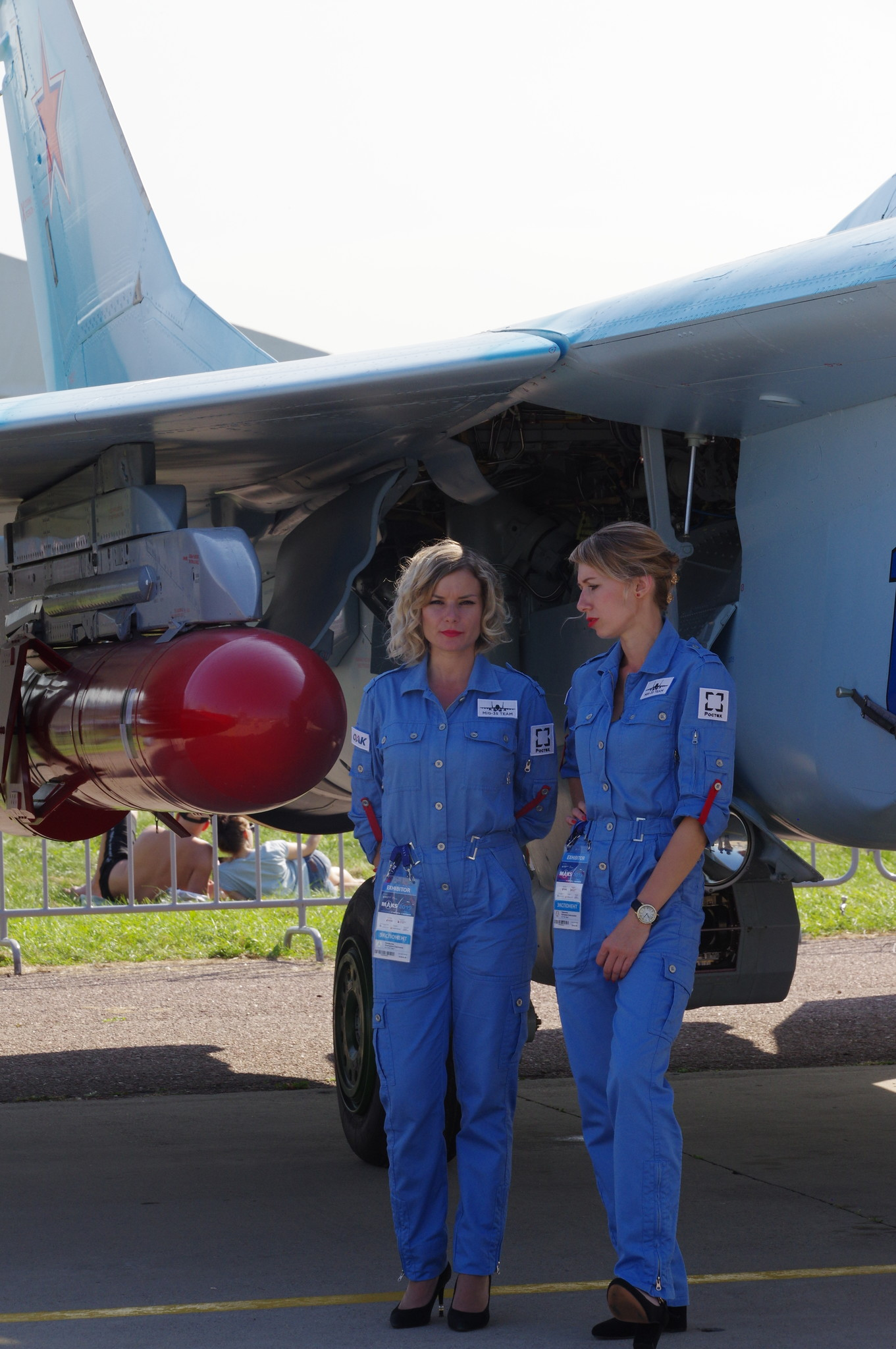 Под крылом истребителя МиГ-35