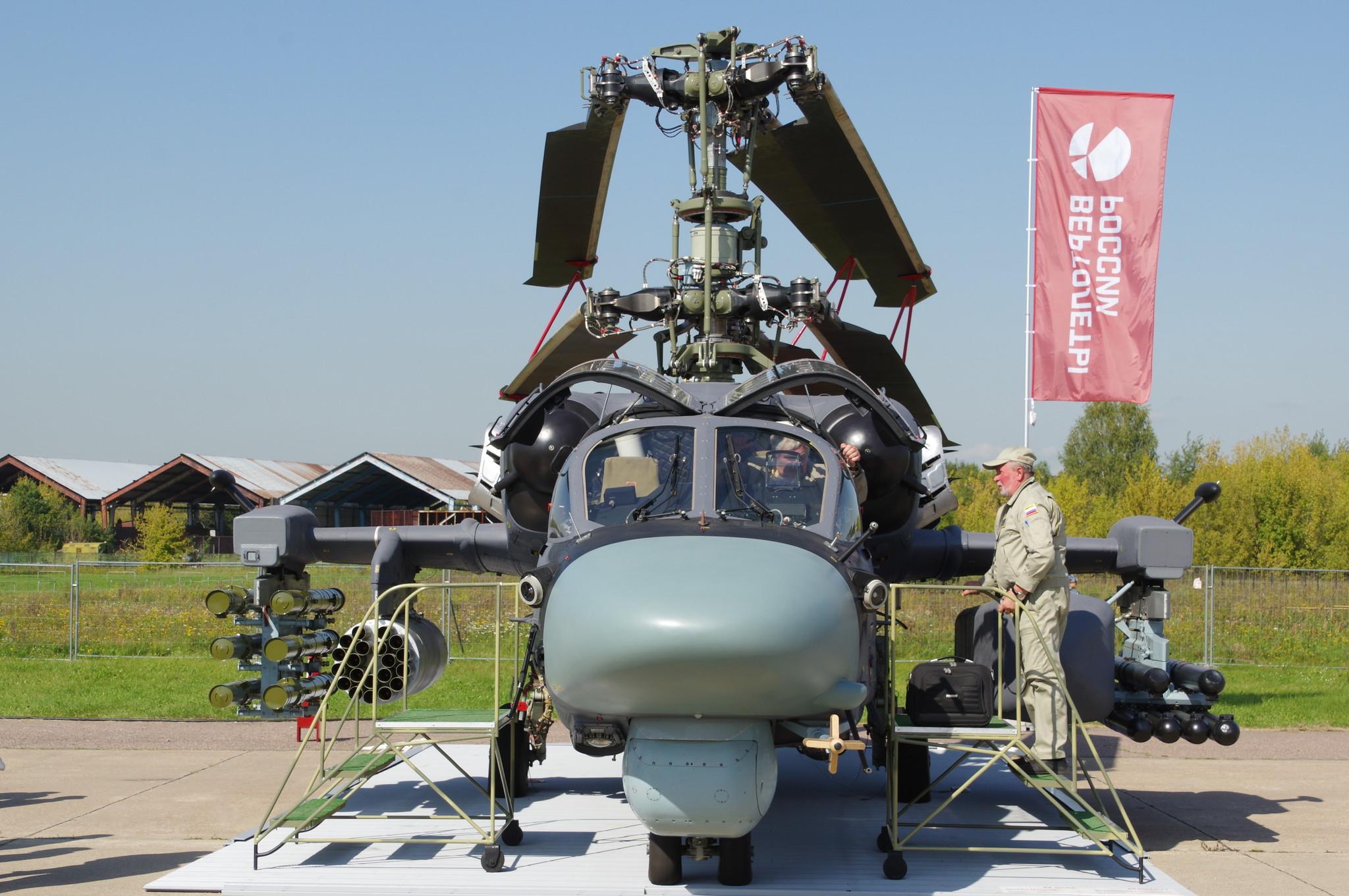 Боевой разведывательно-ударный вертолёт корабельного базирования Ка-52К