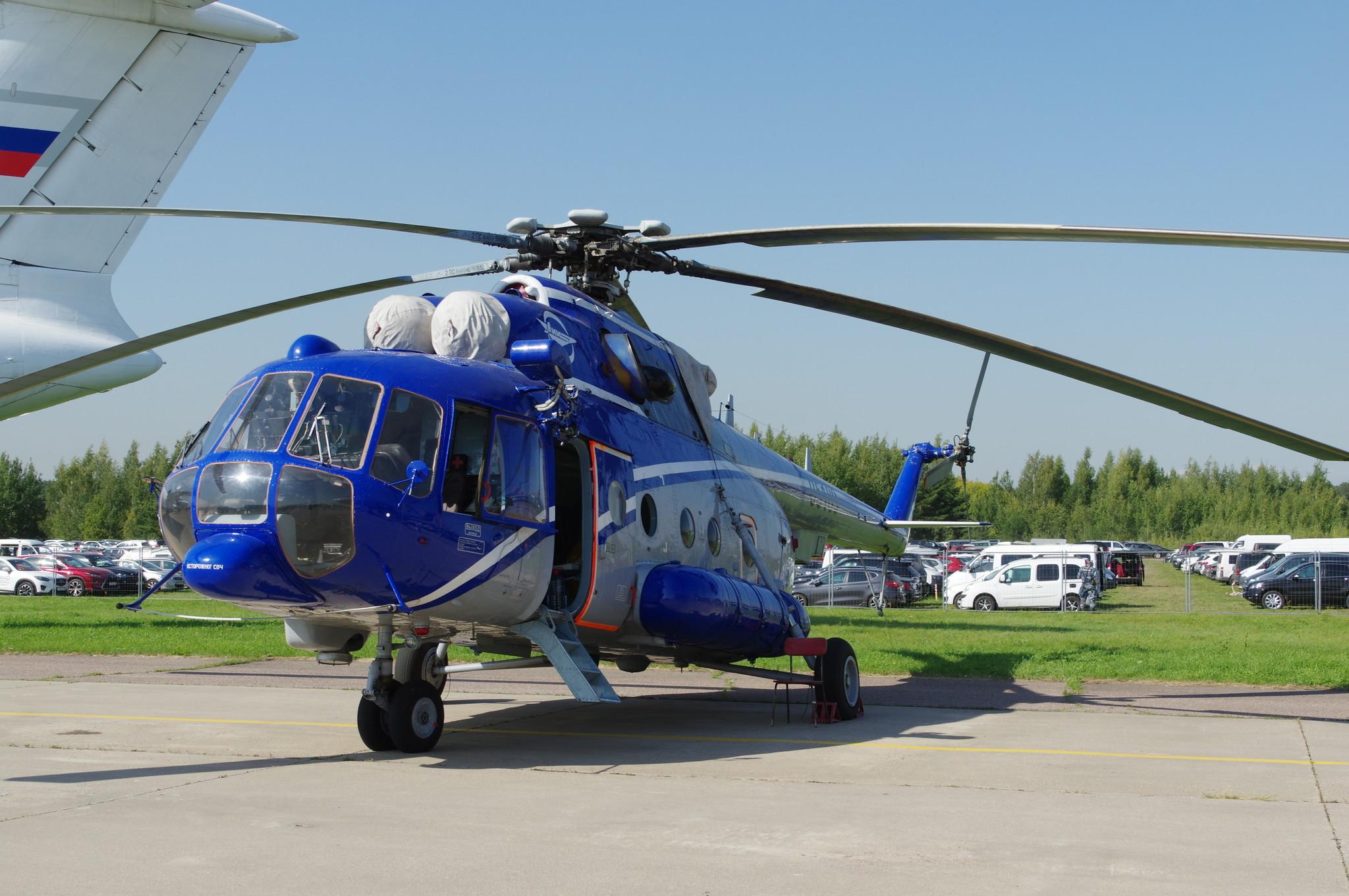 Летающая лаборатория Ми-8 АМТ ЛЛ