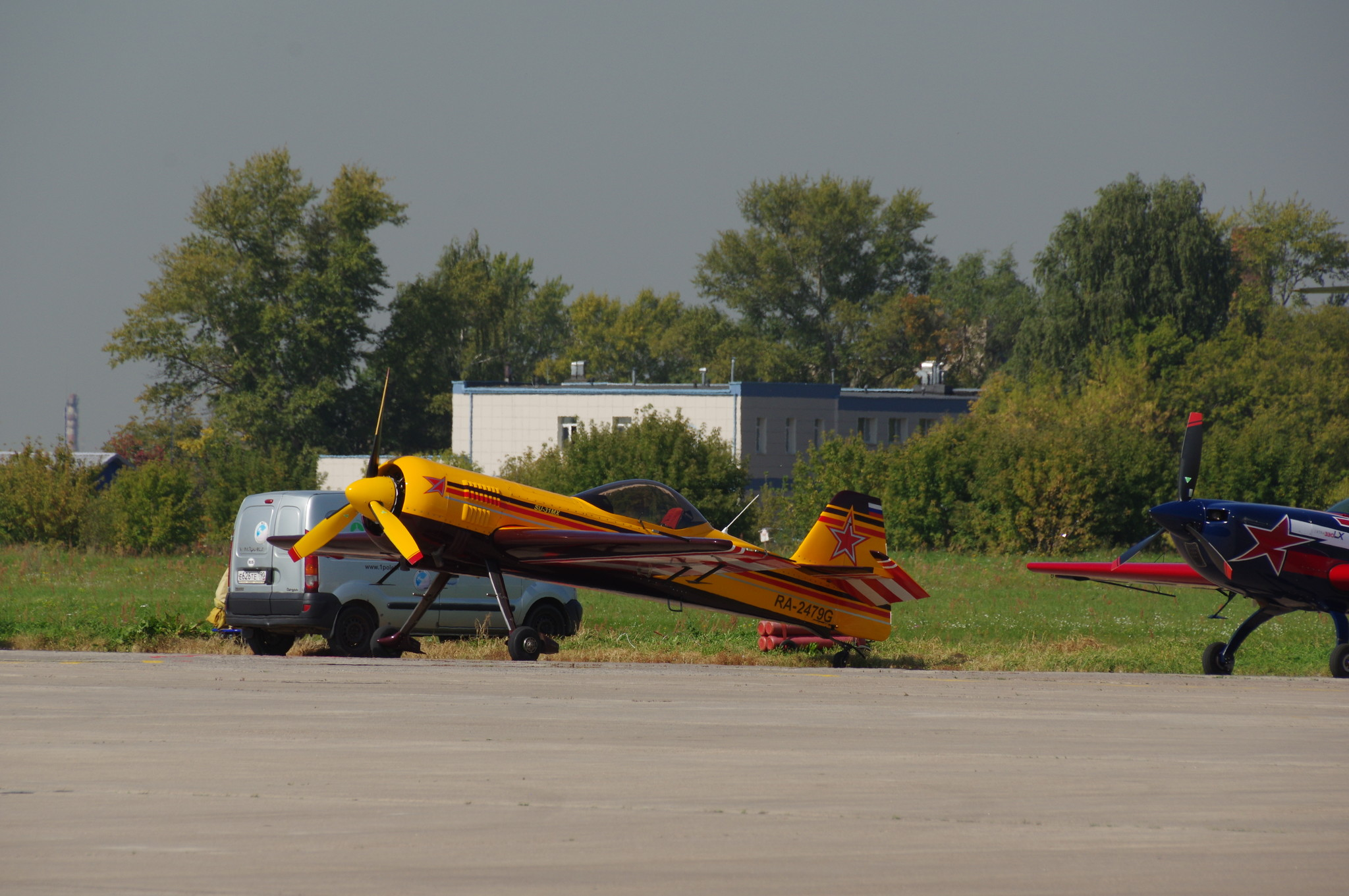 Спортивно-пилотажный самолёт Су-31МX